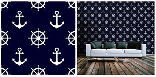 wallpaper beach house anchor ships wheel