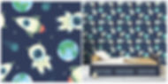 wall paper for kids spaceships astronaut space