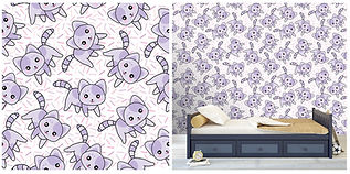 wall paper for kids with kittens