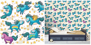 wallpaper with unicorns