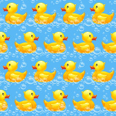 wallpaper kids room ducks ducklings