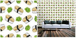wallpaper sushi