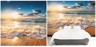 wallpaper beach seaview clouds sea