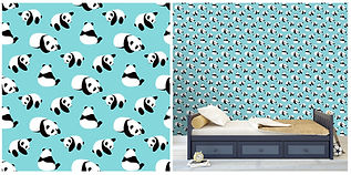 wall paper for kids panda bears