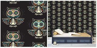 wall paper for kids with owls