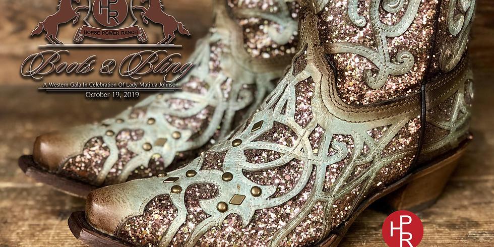 "Lady Matilda's ""Boots & Bling"" Western Gala"