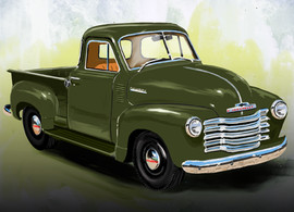Classic Truck by Sabra