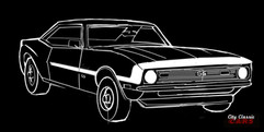 Classic Car Renderings