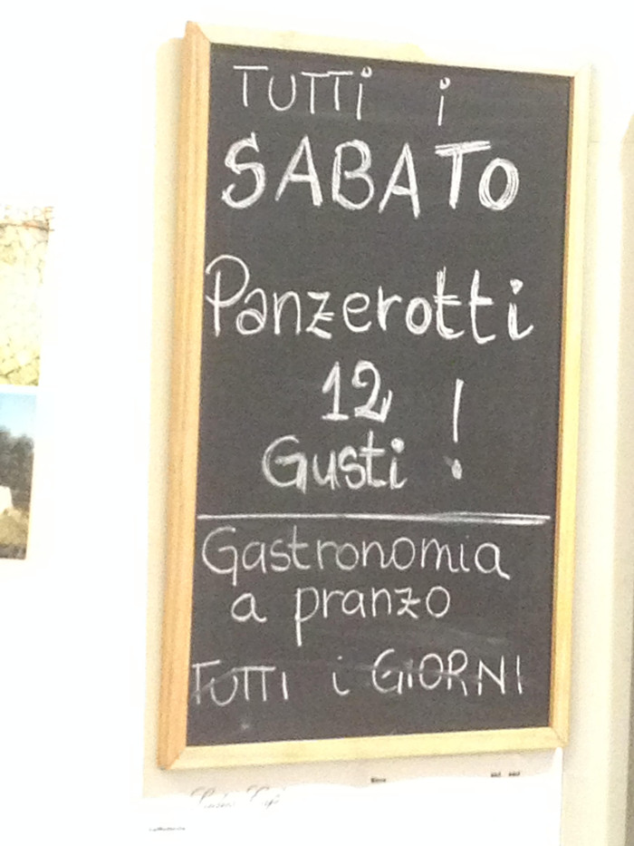 We've made it - and it's Panzerotti night!
