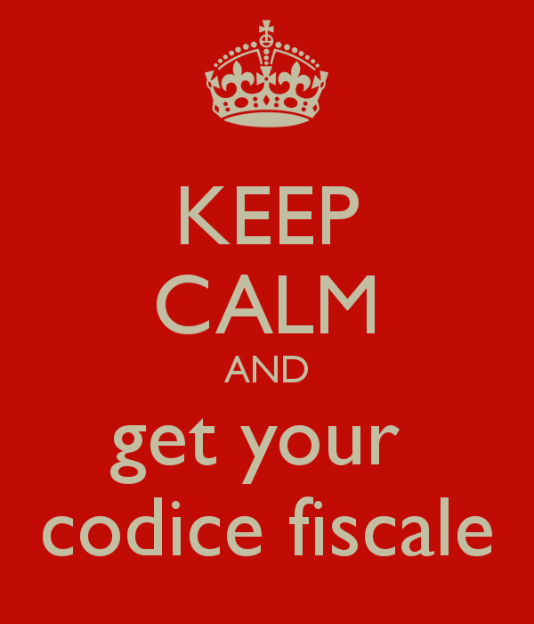 Off to get our Codice Fiscale!