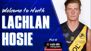 Lachlan Hosie drafted to AFL