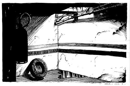 Inktober 18 -Garagem