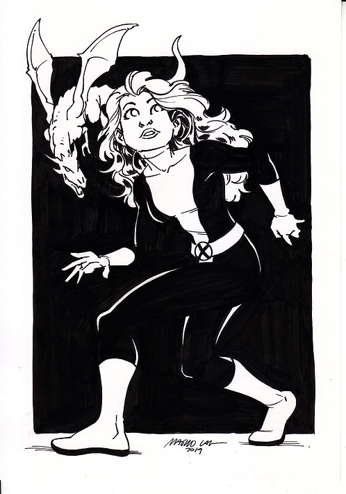 Lince Negra - X-Men