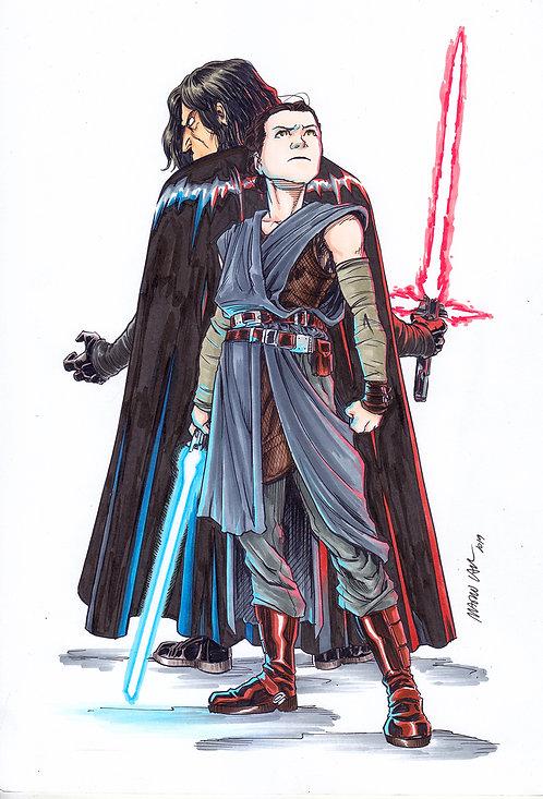Kylo e Rey