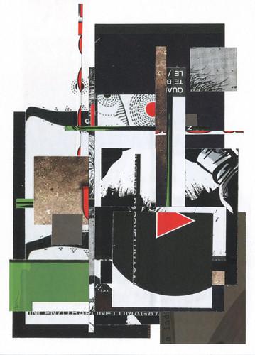 Zach Collins for rapso magazine 1st anniversary, Collage, 2015