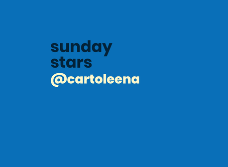 #sundaystars: @cartoleena