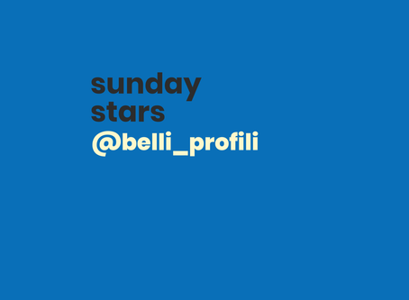 #sundaystars: @belli_profili