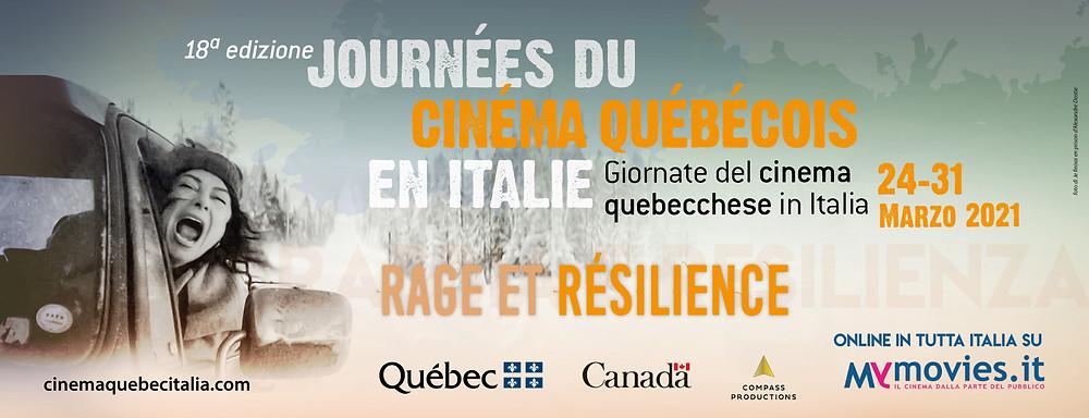 Journées du cinéma québécois en Italie - poster