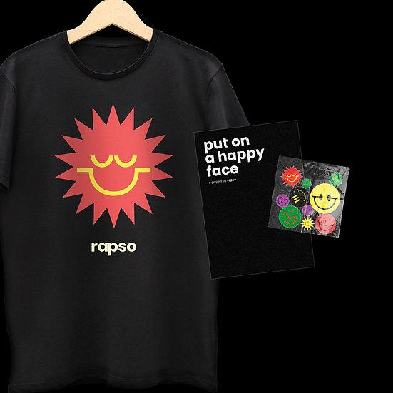Premium T-Shirt + Zine + Stickers