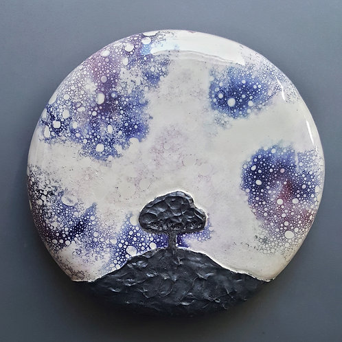 Lilac Sky Moonrise