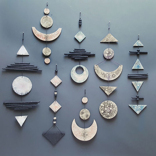 Ceramifique ceramic wall hangings