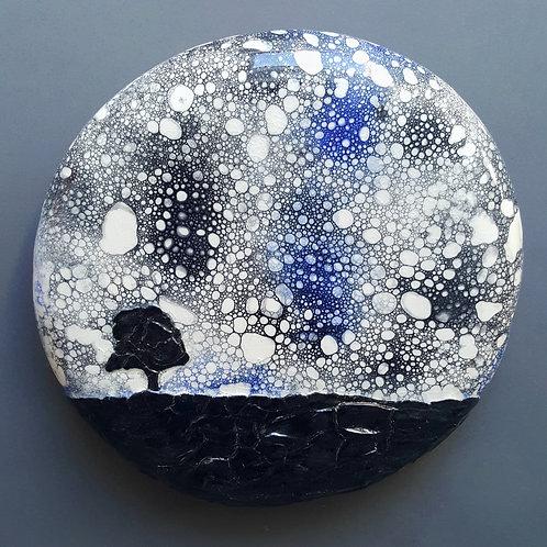 Cosmic Tree Moonrise