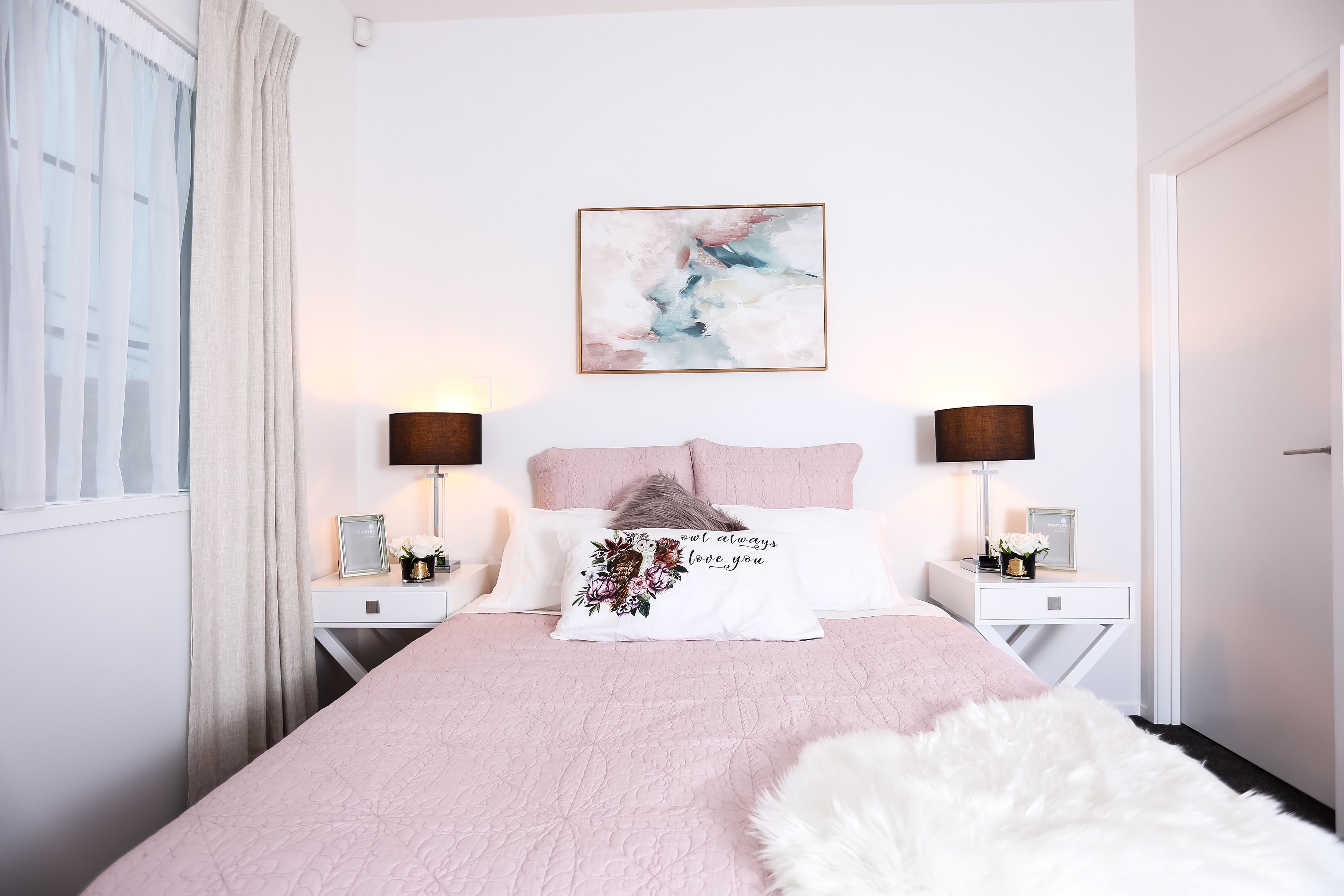 Pink Bed 27
