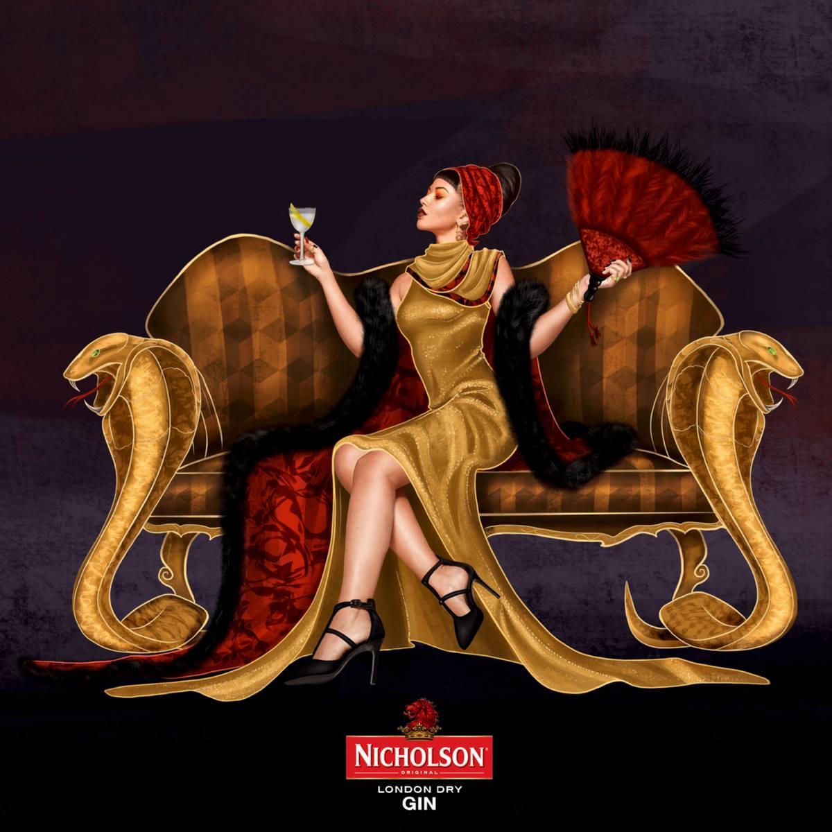 Nicholson Gin - Timeless Classic