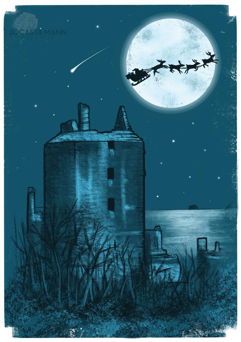 Jocasta Mann ravenscraig castle christma