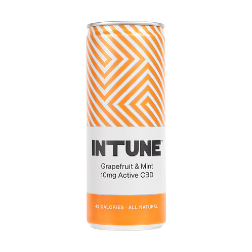Intune CBD Infused Grapefruit& Mint