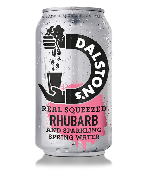 Dalston Seltzer Light Sparkling Rhubarb