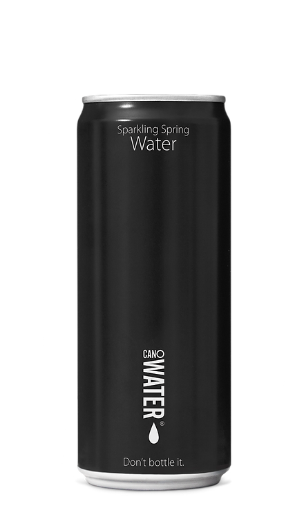 CanO Water Sparkling Spring Resealable Water