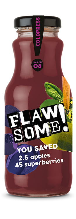 Flaw Some Cold Press Apple& Superberry