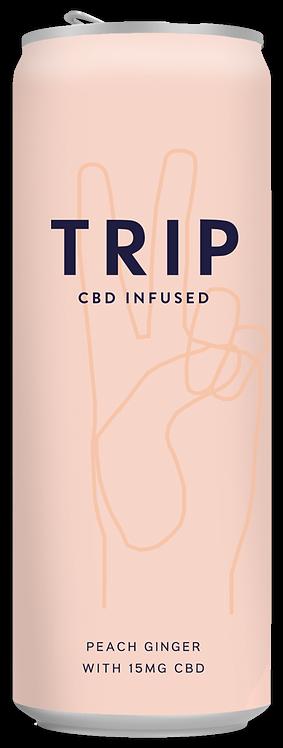 Trip CBD Infused Peach Ginger