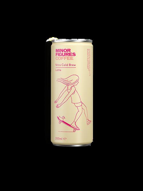 Minor Figures Nitro Cold Brew Latte