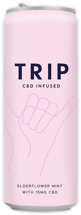Trip CBD Infused Elderflower Mint