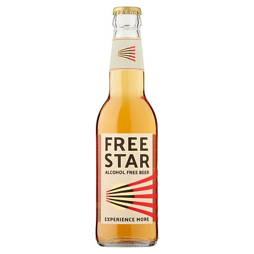 Free Star Alcohol Free Beer Glass