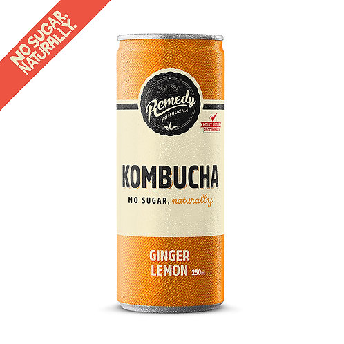 Ginger Lemon 12 x 250ml