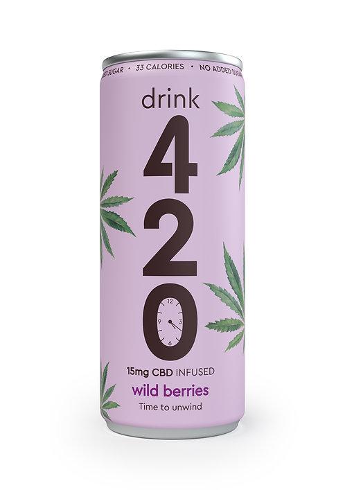 420 CBD Infused Wild Berries