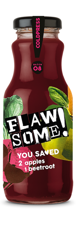 Flaw Some Cold Press Apple & Beetroot