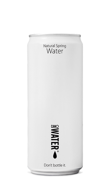 CanO Water Natural Spring Resealable Water