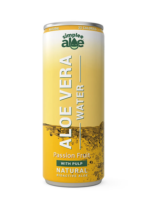 Aloe Vera Water Passion Fruit