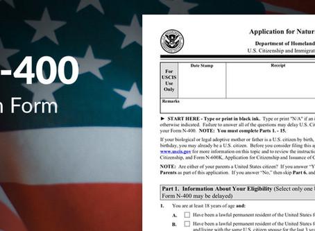 申请人粗心填错表导致入籍N400被拒