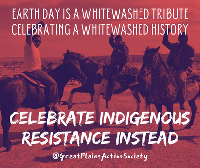 Celebrate Indigenous Resistance this Earth Day