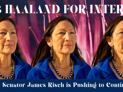 Deb Haaland for Interior: Because Senator James Risch is Pushing to Continue KXL