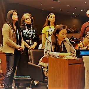 UN PFII Intervention on Man-Camps and Violence in Indigenous Communities