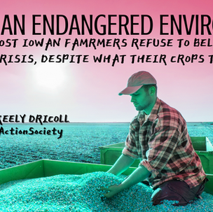 Iowa-An Endangered Environment