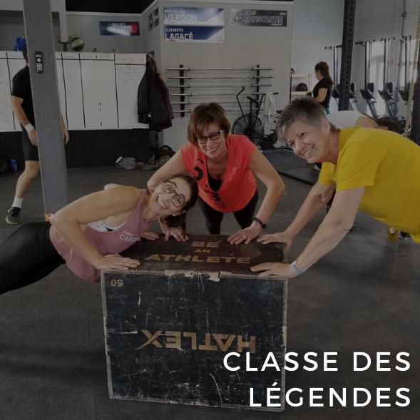 Classe des légendes
