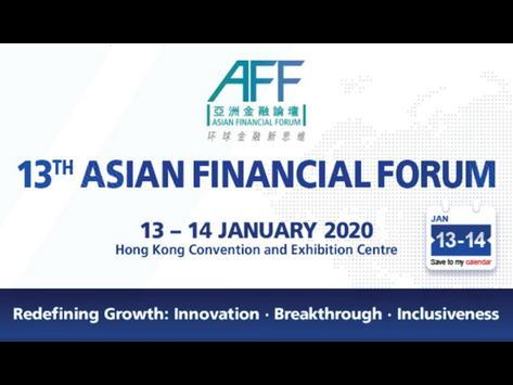 Asian Financial Forum (AFF) 2020
