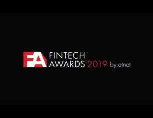 FinTech Awards 2019 Award